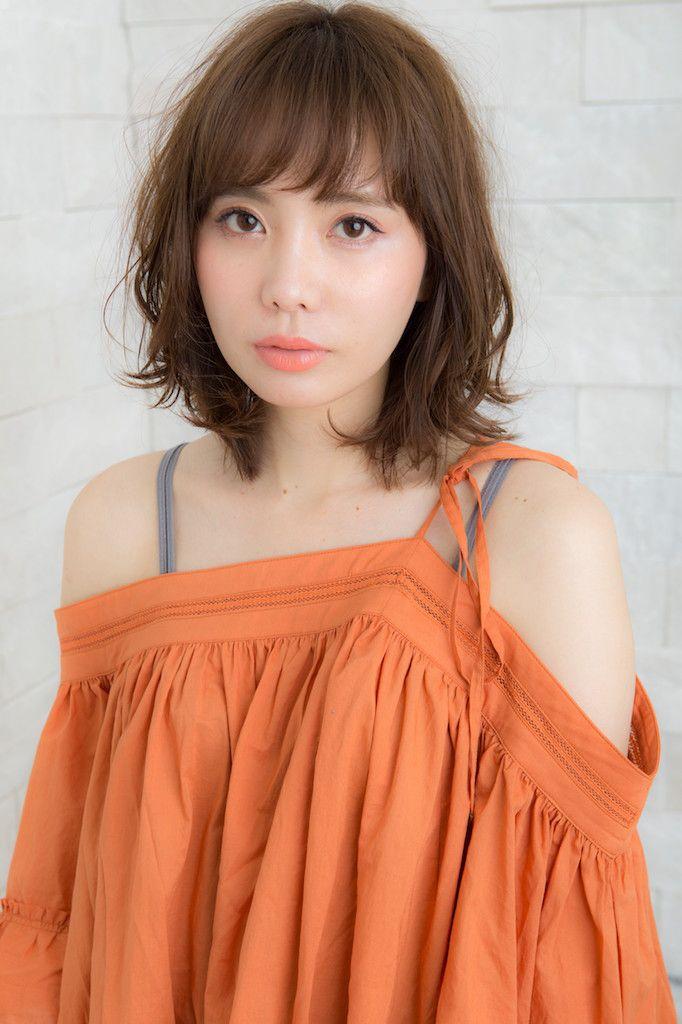 美髪シルエット☆無造作ウェーヴ